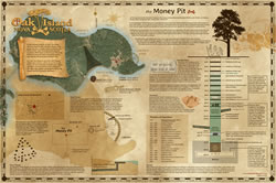Oak Island Money Pit Poster module