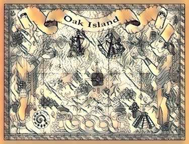 oak island popular theories inca mayan aztek treasure