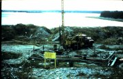 Borehole 10-X & Smiths Cove- 1976 - courtesy Chester Municipal Heritage Society
