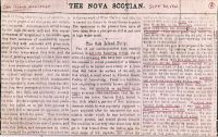 The Nova Scotian, Sept 30 1861, part 1