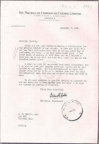 Letter discussing the book The Strange History of Oak Island