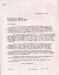 Letter suggesting to contact Chappell and Blair about book