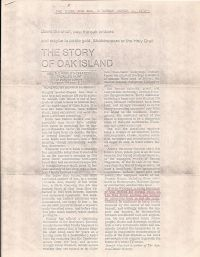 Globe & Mail: The Story Of Oak Island
