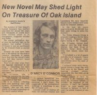 Cape Breton Post: New Novel May Shed Light On Treasure Of Oak Island