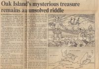 Sunday Star: Oak Island's mysterious treasure remains an unsolved riddle, part 1