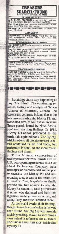 Treasure Search/Found review of Big Dig p2 (magazine included)