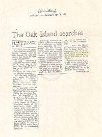 The Spectator: The Oak Island searches