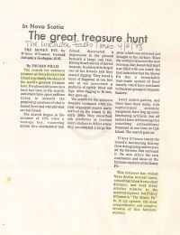 The Wichita Falls Times: The great treasure hunt