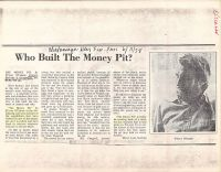 Chatanooga News Free Press: Who Built The Money Pit?