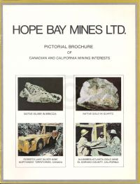 Pictorial Brochure of Canadian and California Mining Interests (scan of cover)