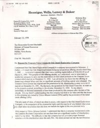 Legal letter supporting Blankenship's license application p1