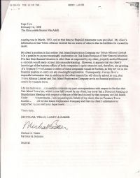 Legal letter supporting Blankenship's license application p2
