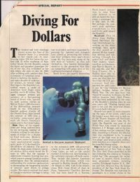 Maclean's: Diving For Dollars p1