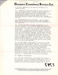Confidential letter discussing Oak Island Project p2 (attached to June 11 1990 memorandum)