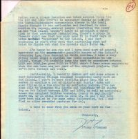 Letter mentioning O'Connor is chronologically up to 1951 in his writing